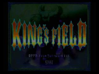 KINGS FIELD Ⅱ TITLE