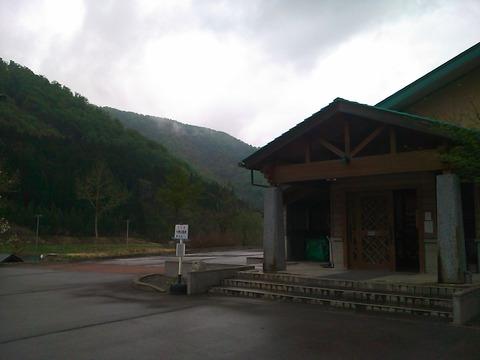 大長谷温泉は八尾の山の奥の奥にある