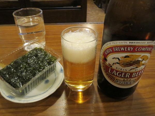 ハッピー食堂で昼ビールするとハッピーになる
