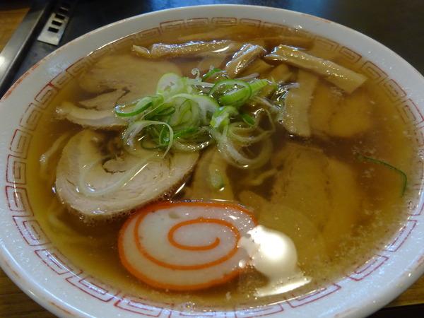 えびすやの中華そばは懐かしき食堂の味