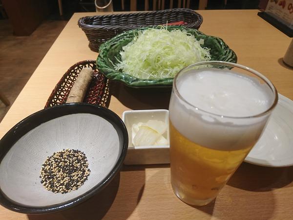 とんかつ新宿さぼてんで食べるのはかきフライ
