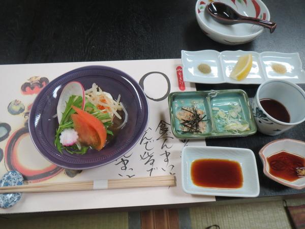 柳橋で冬の富山の味を堪能する