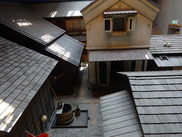 深川江戸資料館では江戸の古い町をリアルに再現していた