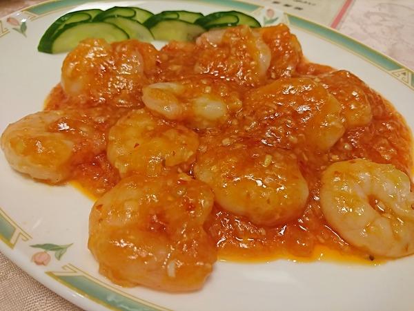 リトル上海のコース料理は王道のラインナップ
