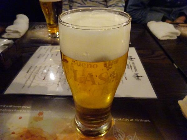 LASAで飲んだビールがとてもうまい