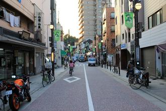 201410180301京急新馬場の商店街
