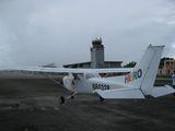 機体と管制塔
