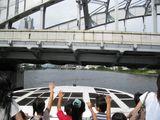 かちどき橋通過1