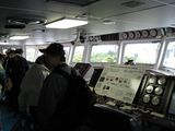 海鷹丸 操舵室