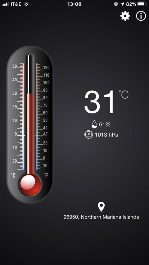 12日目気温