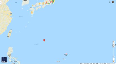 ブログ沖ノ鳥島