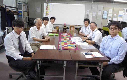神戸大石黒研究室の5名の訪問(2)