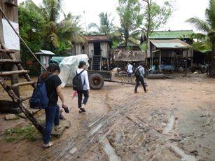 タノン・チュム村の様子