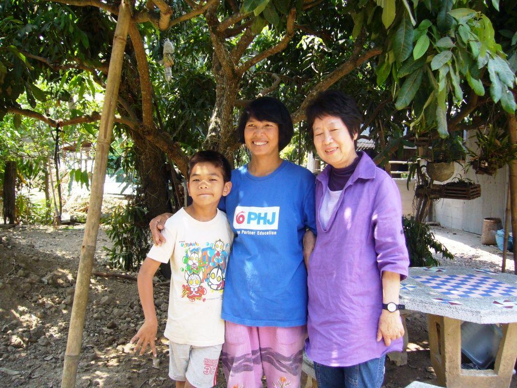 Rocky & his grandmother 20130502 2