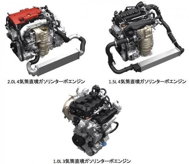 1リットル3気筒のダウンサイジングターボエンジン…最高出力は130ps ...