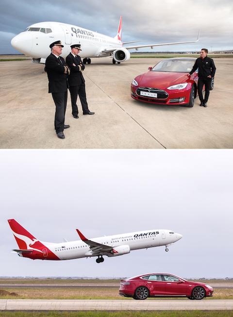 Boeing 737 vs Tesla   Art einsky
