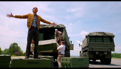 映画「バリー・シール アメリカをはめた男」ドーナル・グリーソン