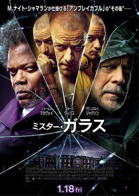 映画「ミスター・ガラス」