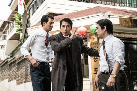 韓国映画「ザ・キング」チョ・インソンとチョン・ウソンとペ・ソンウ
