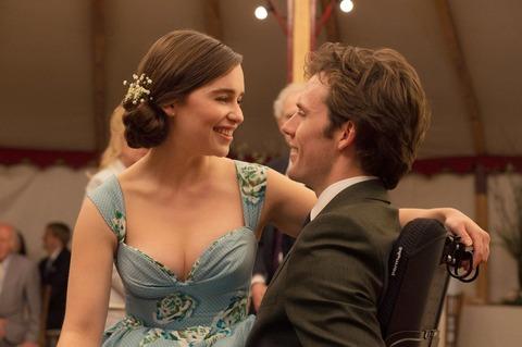 映画「世界一キライなあなたに」サム・クラフリンとエミリア・クラーク