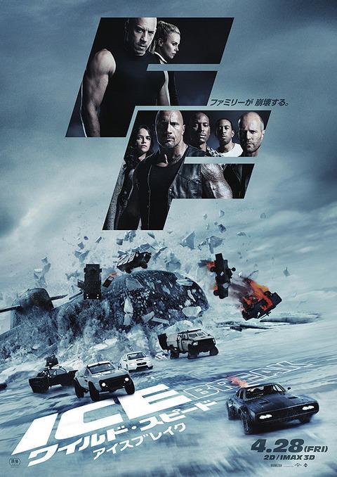 映画「ワイルド・スピード ICE BREAK」