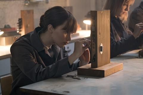 映画「レッド・スパロー」ジェニファー・ローレンス