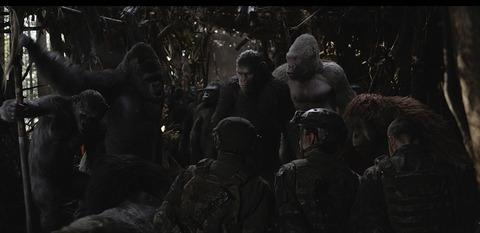 猿の惑星:聖戦記(グレート・ウォー)4