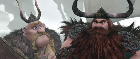 映画「ヒックとドラゴン」ストイック