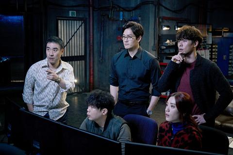韓国映画「スウィンダラーズ」ペ・ソンウ、ユ・ジテ、ヒョンビン