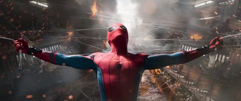 映画「スパイダーマン:ホームカミング」トム・ホランド