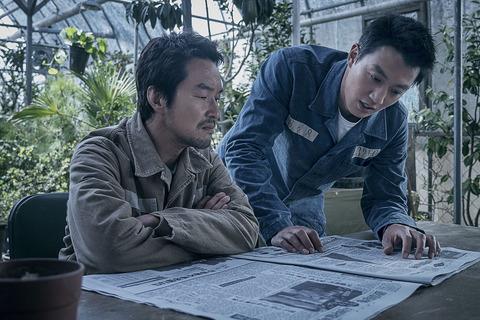 韓国映画「監獄の首領」キム・レウォンとハン・ソッキュ