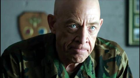 映画「ネイビーシールズ ナチスの金塊を奪還せよ!」J・K・シモンズ