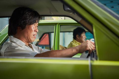 映画「タクシー運転手 約束は海を越えて」ユ・ヘジン、ソン・ガンホ