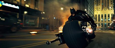 映画「ダークナイト」バットマン