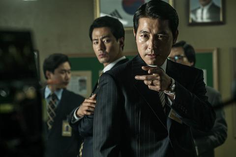 韓国映画「ザ・キング」チョ・インソンとチョン・ウソン