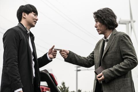 殺韓国映画「殺人者の記憶法」ソル・ギョングとキム・ナムギル