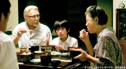 映画「歩いても 歩いても」原田芳雄、樹木希林