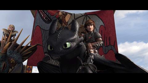 映画「ヒックとドラゴン2」トゥース