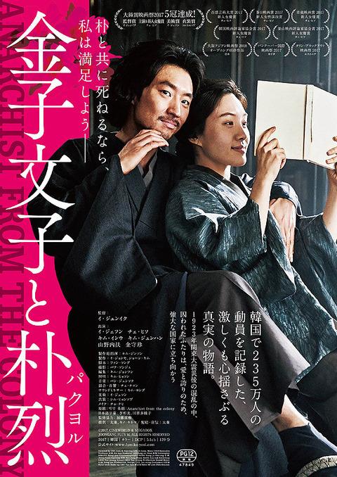 映画「金子文子と朴烈(パクヨル)」