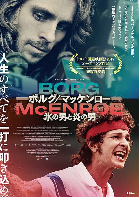 映画「ボルグ/マッケンロー 氷の男と炎の男」