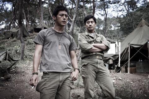 韓国映画「高地戦」シン・ハギュンとコ・ス