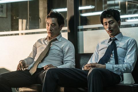 韓国映画「ザ・キング」チョ・インソンとペ・ソンウ