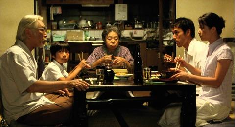 映画「歩いても 歩いても」原田芳雄、樹木希林、阿部寛、夏川結衣