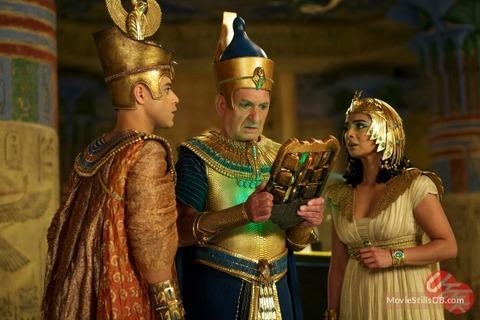 映画「ナイト ミュージアム3 エジプト王の秘密」