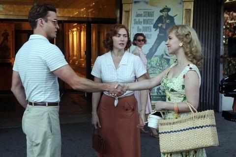 映画「女と男の観覧車」ケイト・ウィンスレット、ジャスティン・ティンバーレイク、ジュノー・テンプル