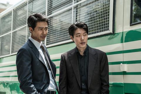 韓国映画「ザ・キング」チョ・インソンとリュ・ジュンヨル