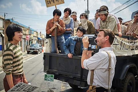 映画「タクシー運転手 約束は海を越えて」リュ・ジュンヨル、トーマス・クレッチマン