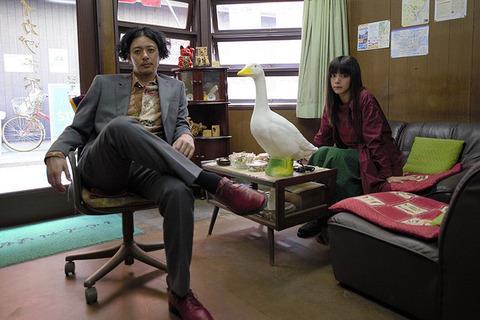 映画「ルームロンダリング」オダギリジョー、池田エライザ