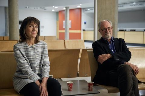 イギリス映画「ベロニカとの記憶」ジム・ブロードベントとハリエット・ウォルター