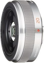 LUMIX G 20mm F1.7 II ASPHシルバー